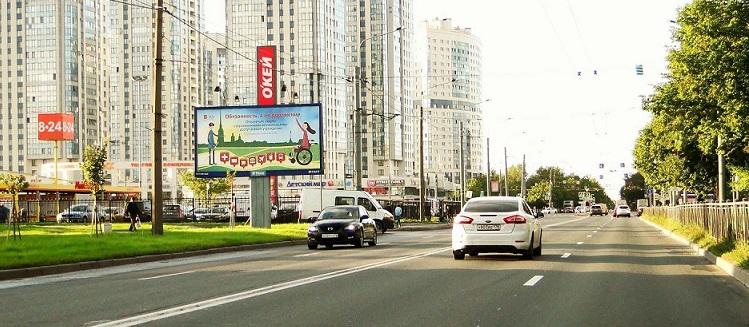 билборд на космонавтов
