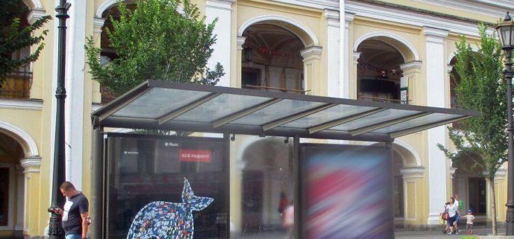 Новый формат остановок на Невском проспекте